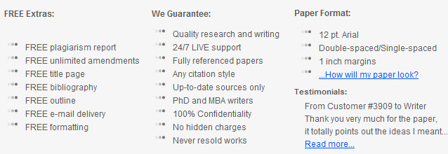 Buy Essays of Top Quality � Pay & Get Highest Grades!